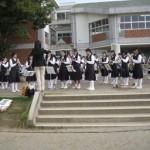 開会式:「田彦中学校吹奏楽部演奏」
